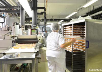 Herstellung von Swaren in einem Werk fr Lebensmittelindustrie -